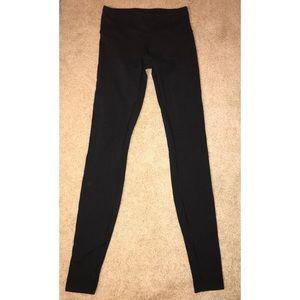 Black Lululemon leggings - size 2